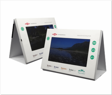 Dow | A4 Video display met 7 inch beeldscherm